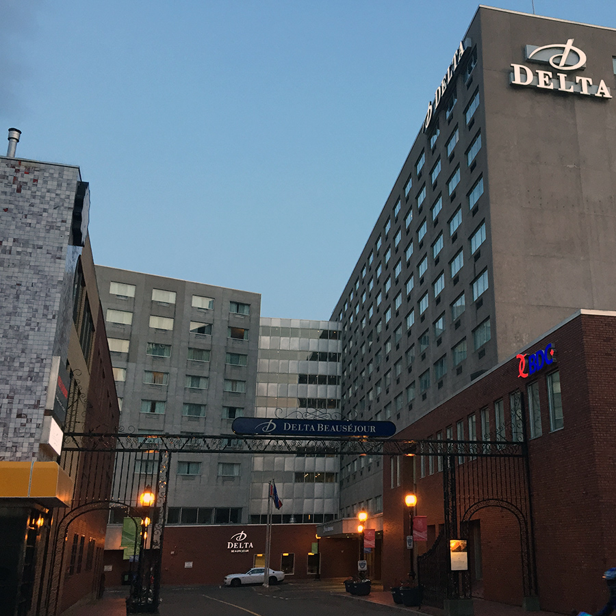 Opal21 Spa is located in downtown Moncton in the Hotel Delta Beausejour